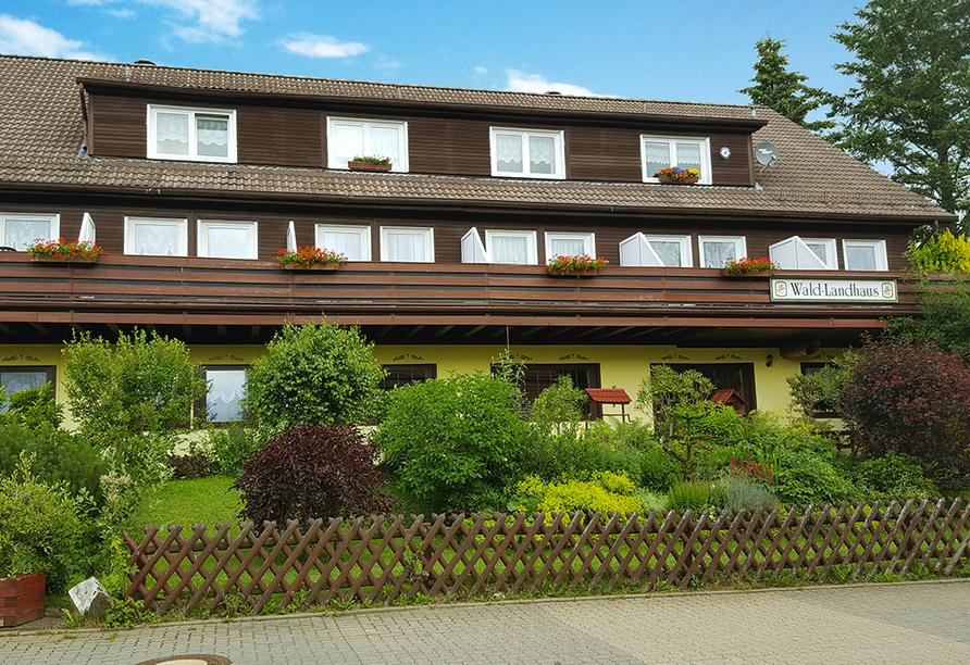 Wald-Landhaus in Goslar-Hahnenklee, Außenansicht