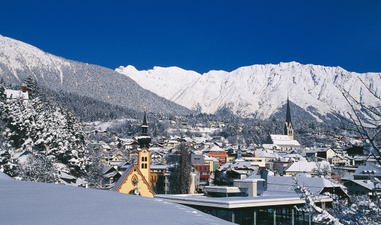 Hotel Auderer in Imst in Tirol, Winter