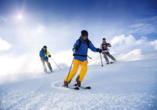 Hotel Auderer in Imst in Tirol, Skifahren