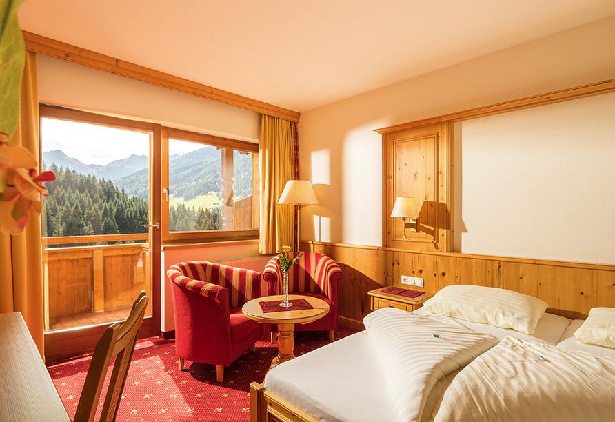 Hotel Alphof in Alpbach, Zimmerbeispiel