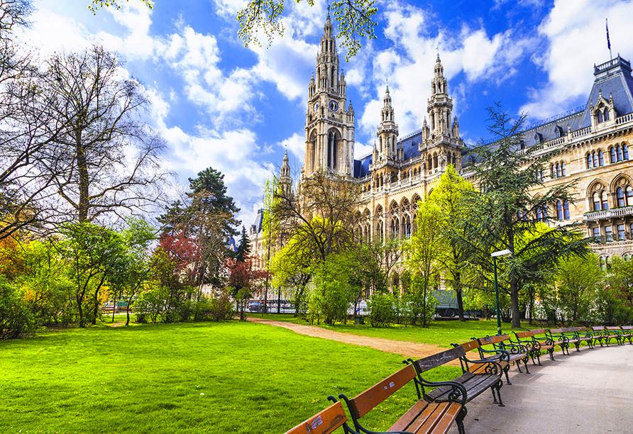 Hotel roomz Vienna Parter in Wien, Österreich, Park