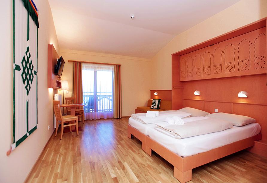 JUFA Hotel Knappenberg in Kärnten Zimmerbeispiel