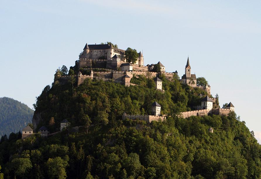 JUFA Hotel Knappenberg in Kärnten, Ausflugsziel Burg Hochosterwitz