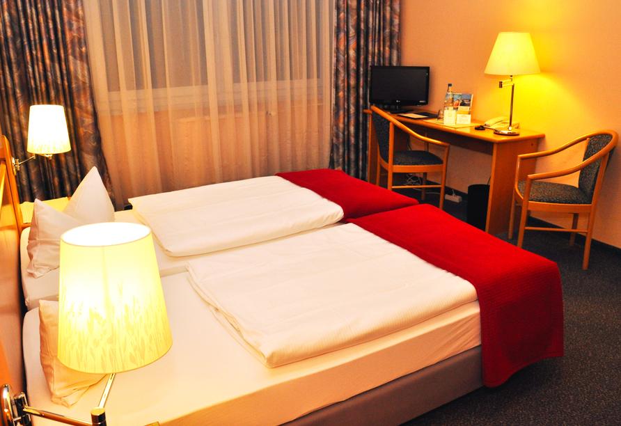 Hotel am Tierpark in Güstrow in Mecklenburg Zimmerbeispiel