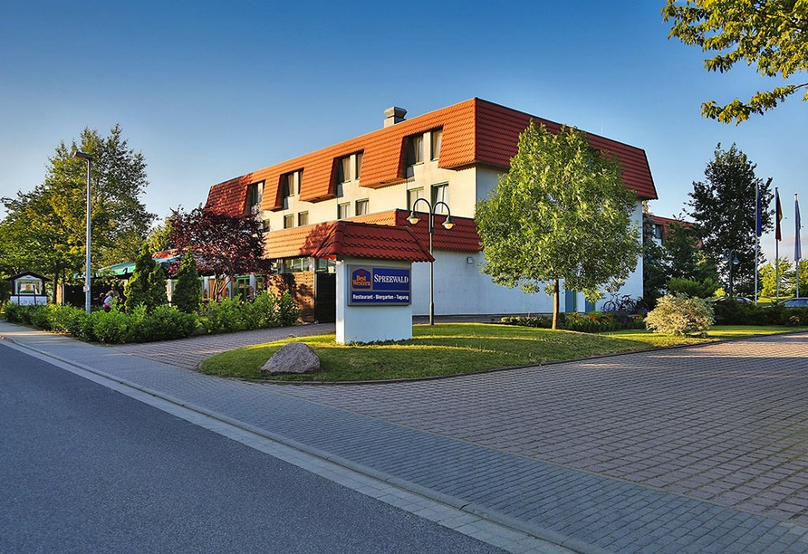 Best Western Hotel Spreewald, Außenansicht