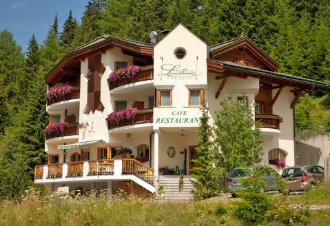 Landhaus Paradies in Spiss, Außenansicht
