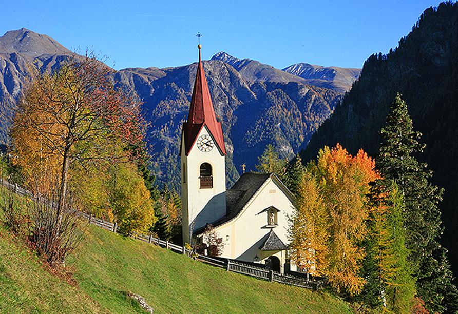 Landhaus Paradies in Spiss, Landschaft