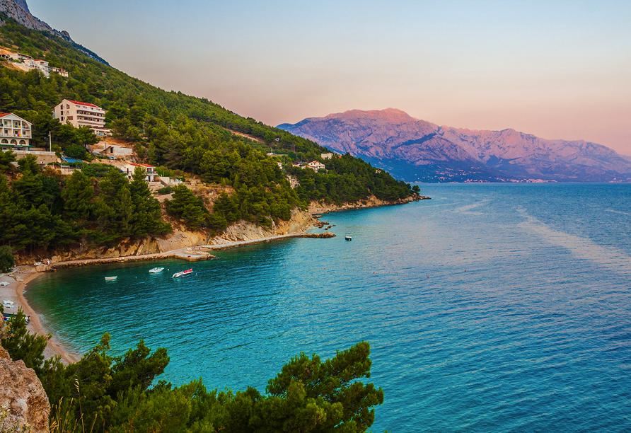 Blaue Reise Dalmatien, Meer