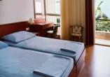 Beispiel eines Doppelzimmer Meerblick im Hotel Aurora