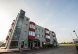 Hotel Formula International in Rosolina, Außenansicht