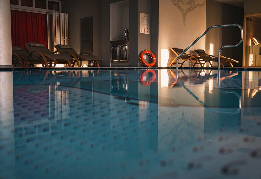 Hotel Formula International in Rosolina, Hallenbad
