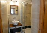 Hotel Ariston, Badezimmer