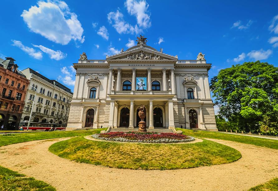 Hotel Cosmopolitan Bobycentrum, Mährische Landesmuseum