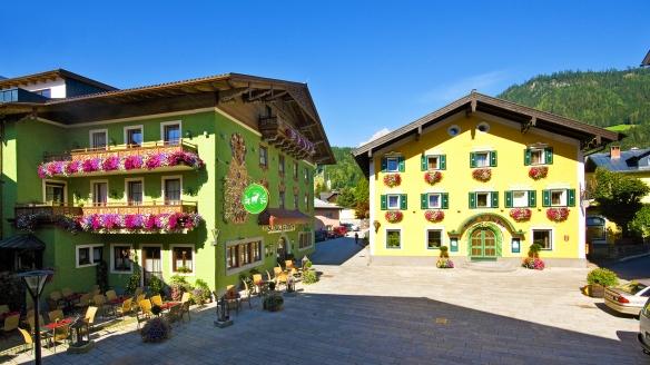 Gasthof Schützenhof & Hotel Alte Post in Bischofshofen im Salzburger Land, Außenansicht