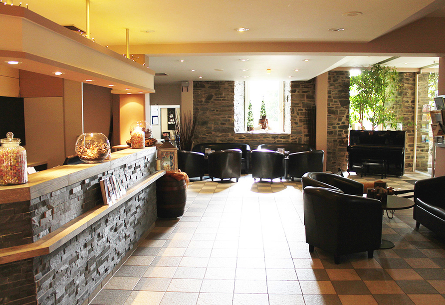 Michel & Friends Hotel Monschau in der Eifel Eingangsbereich