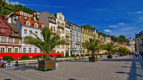 Hotel Dvorana Karlsbad Tschechien, Ortsansicht Karlsbad