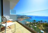 Hotel Abrat in San Antonio in Ibiza, Aussicht Zimmer Meerblick