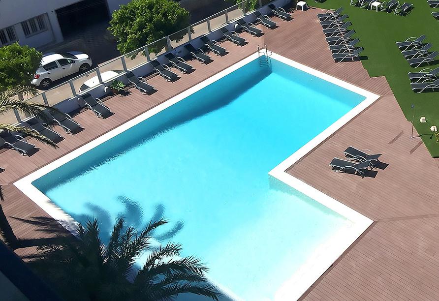Hotel Abrat in San Antonio in Ibiza, Außenpool