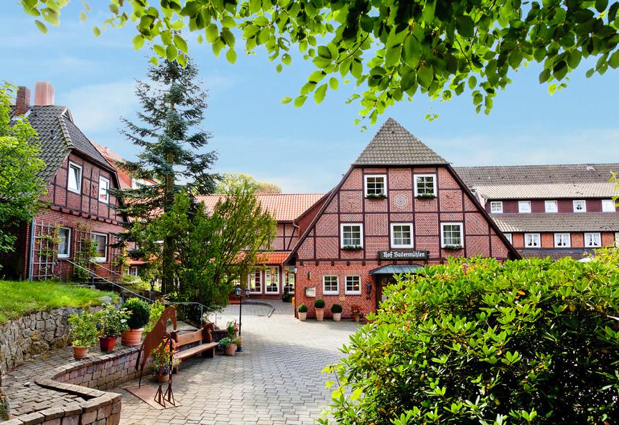 Hotel Hof Sudermühlen, Außenansicht