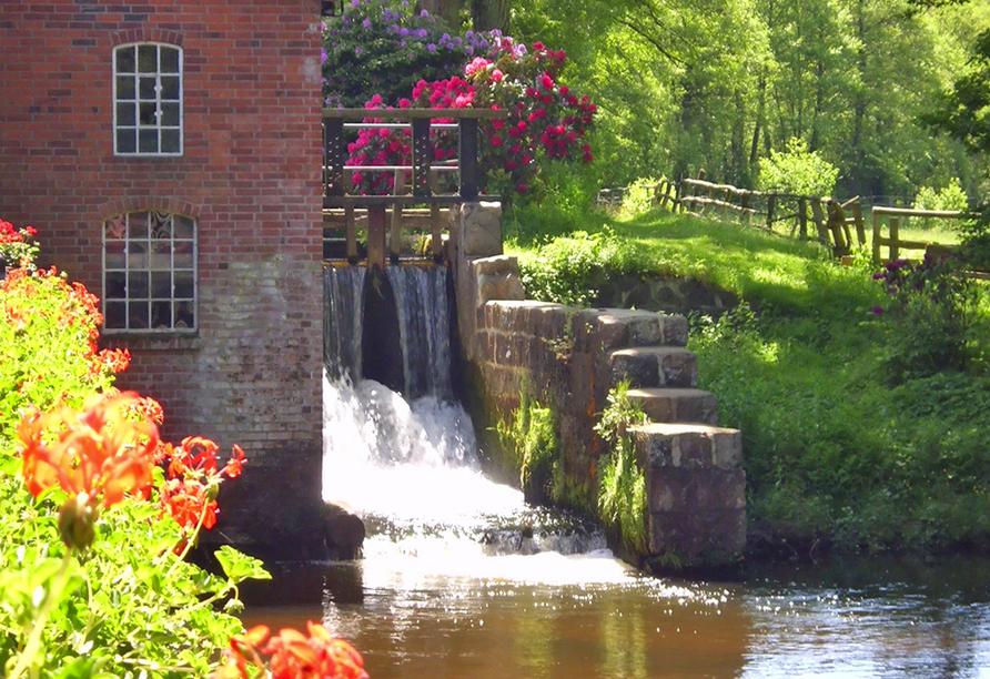 Hotel Hof Sudermühlen, Wassermühle