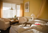 Hotel Kommandoergaarden, Beispiel Standardzimmer