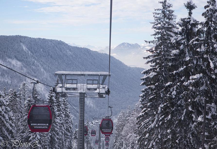 DEVA Hotel Sonnleiten in Reit im Winkl Chiemgau Bayern, Winklmoosbahn