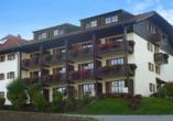 Hotel Gottinger in Waldkirchen, Bayerischer Wald, Außenansicht