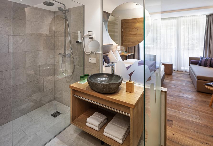 Hotel Katschberghof in Rennweg am Katschberg, Beispiel Badezimmer