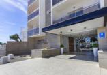 Hotel Best Siroco in Benalmádena, Außenansicht
