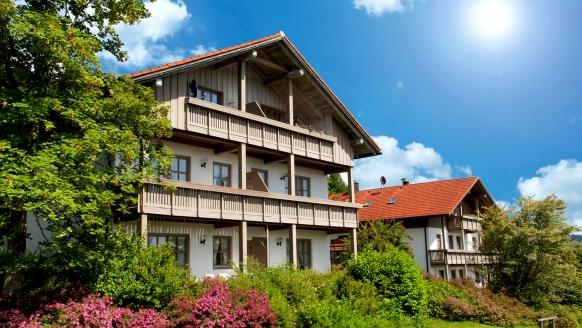 Am Weberfeld in Bodenmais im Bayerischen Wald, Außenansicht