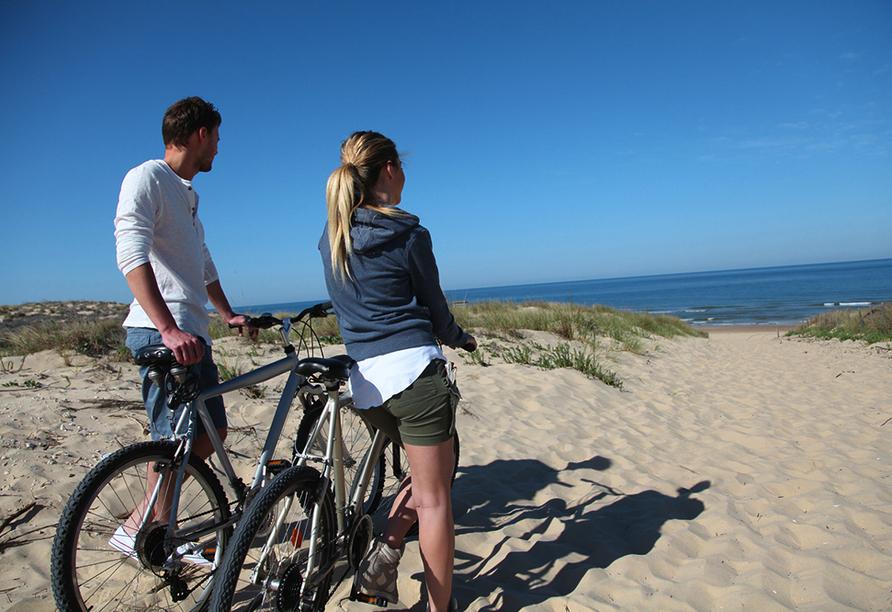 Hotel ibis De Haan Nordsee Belgien Fahrradtour