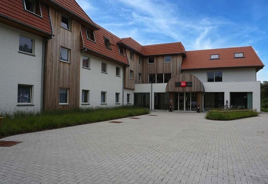 Hotel ibis De Haan Nordsee Belgien, Außenansicht