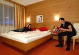 First Mountain Hotel Zillertal in Aschau, Zimmerbeispiel