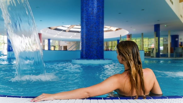Thermal Hotel Balance in Lenti, Therme Innenpool