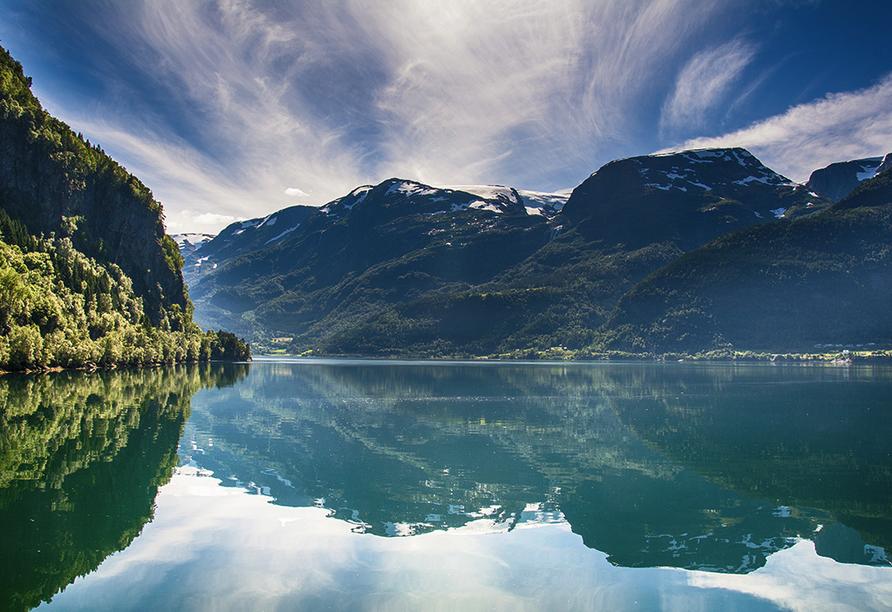 MSC Poesia, Eidfjord