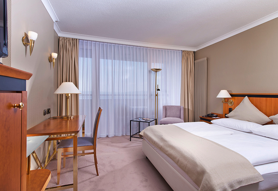 Wyndham Garden Lahnstein Koblenz Hotel in Lahnstein im Oberen Mittelrheintal, Zimmerbeispiel