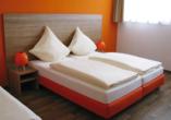Orange Hotel und Apartments in Neu-Ulm Mittelschwaben, Zimmerbeispiel
