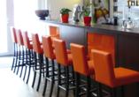 Orange Hotel und Apartments in Neu-Ulm Mittelschwaben, Bar
