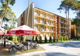 Hotel Grand Laola Vital & SPA Poberow Polnische Ostsee, Aussenansicht