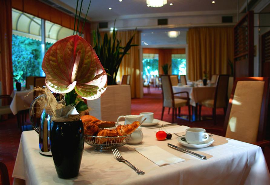 Parkhotel Kurhaus in Bad Kreuznach Frühstückstisch