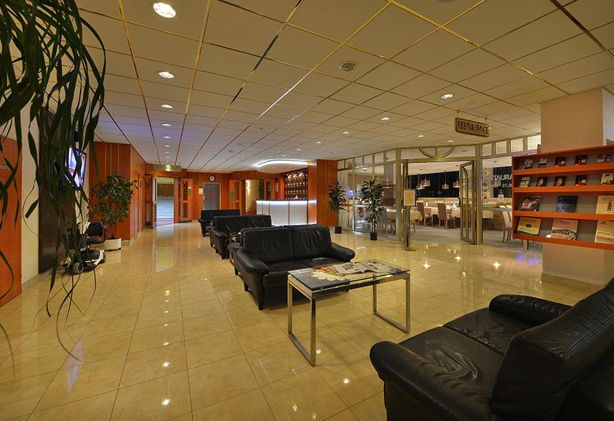 Kurhotel Pyramida 1, Franzensbad, Tschechien, Lobby