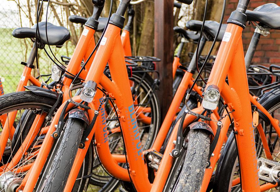 Nordseehotel Wilhelmshaven, Fahrräder