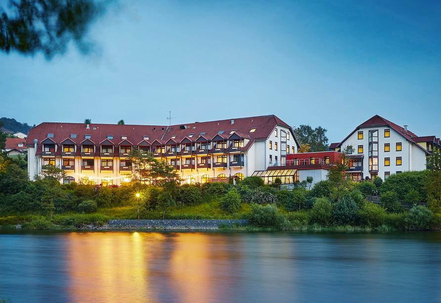 Göbel's Seehotel Diemelsee, Außenansicht