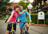 Göbel's Seehotel Diemelsee, Radfahren