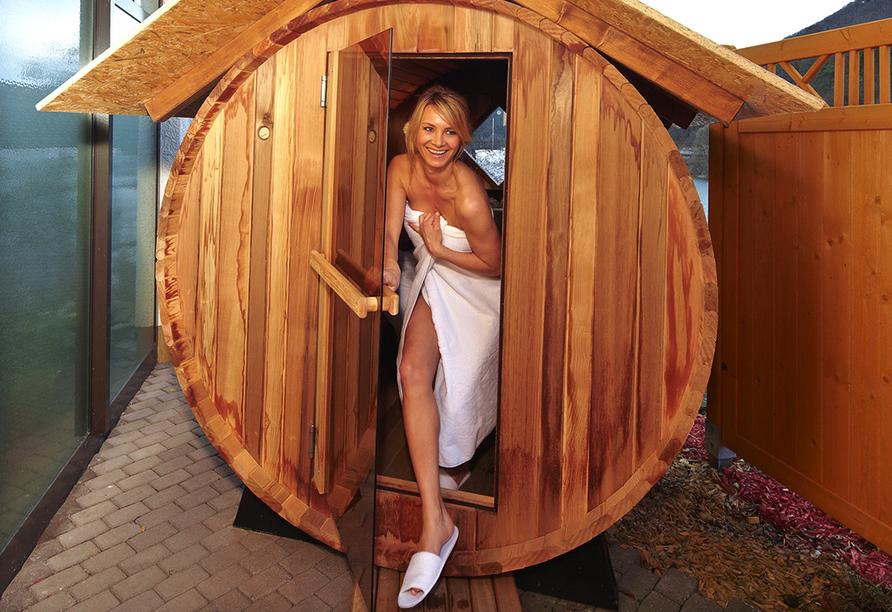 Göbel's Seehotel Diemelsee, Fass-Sauna