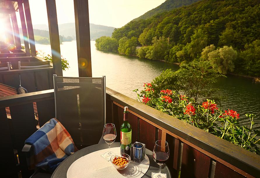 Göbel's Seehotel Diemelsee, Ausblick