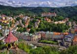 Hotel Riviera Nova Role bei Karlsbad, Ausblick Karlsbad