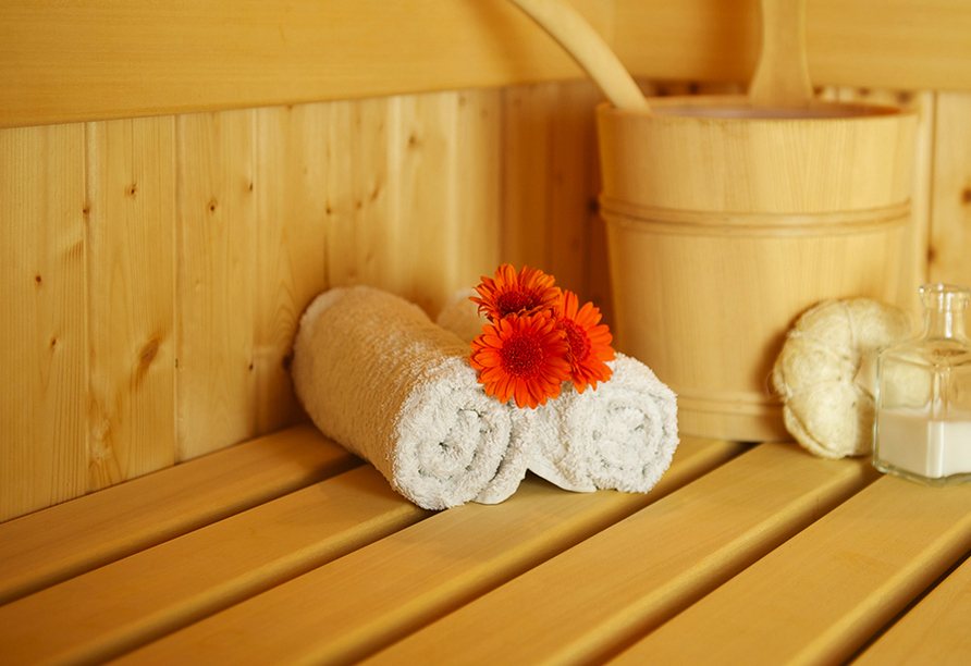 Parkhotel Morris Nový Bor in Tschechien Sauna