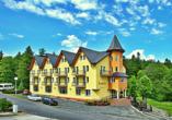 Kurhotel Pasja in Bad Flinsberg, Außenansicht