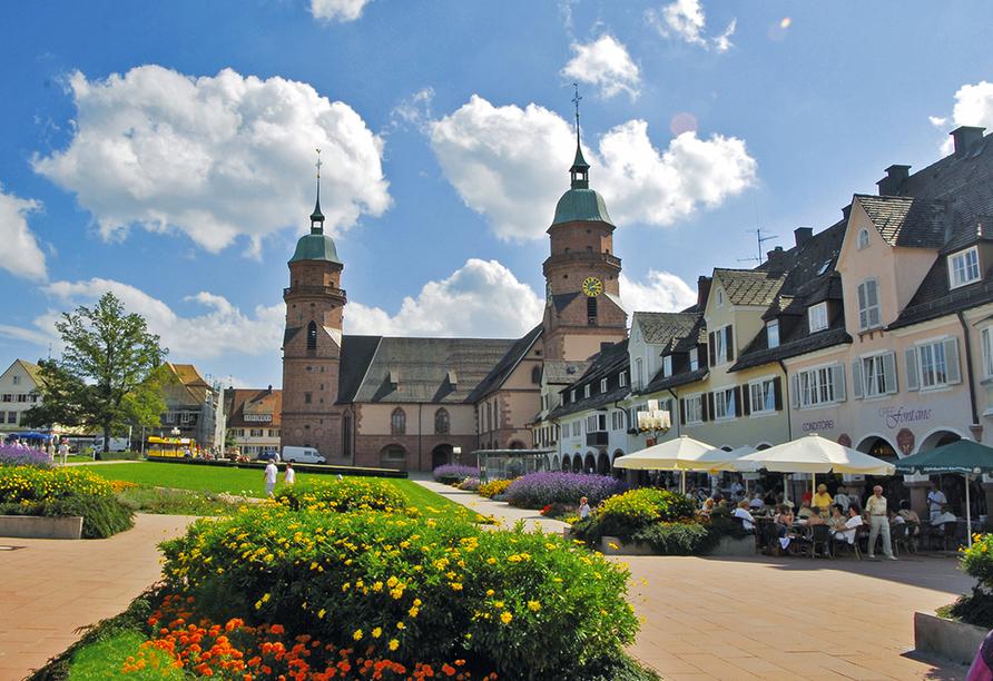 Hotel Hirsch, Zwieselberg, Freudenstadt, Schwarzwald, Stadtkirche Freudenstadt